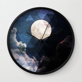 ZMoon Wall Clock