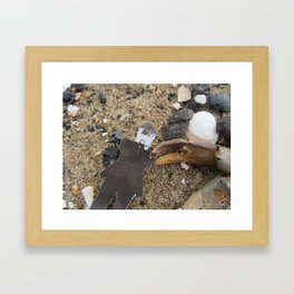 Jarvis (at the sea-side) Framed Art Print