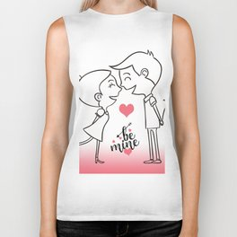 Valentines Day Special Love Couple Biker Tank