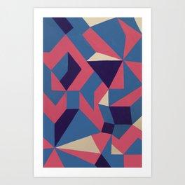 Aster/Astro Wrap Art Print