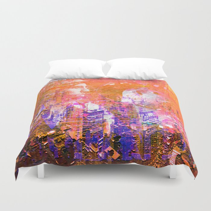 Honeymoon In New York Duvet Cover By Shivacamille Society6