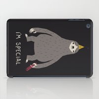 sloth iPad Cases featuring sloth by Louis Roskosch