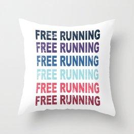 Free Running Parkour Sports Gift Throw Pillow