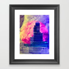 Luminescence Testing Station 12-08-16 Framed Art Print