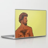 frank Laptop & iPad Skins featuring Frank by Ego Rodriguez