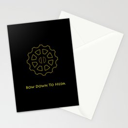 Bow Down To Heda Stationery Cards