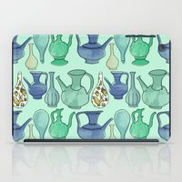 persian iPad Cases featuring Persian Pots by Katie L Allen