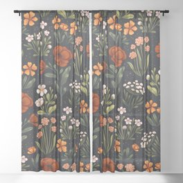 Wild Flowers ~ vol1. Sheer Curtain