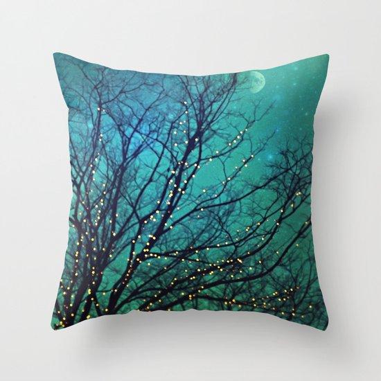 magical night Throw Pillow