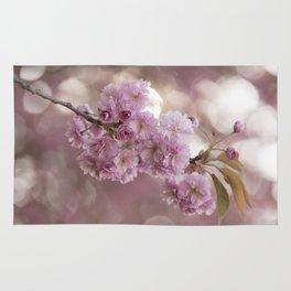 Japanese Cherry Blossom in LOVE Rug