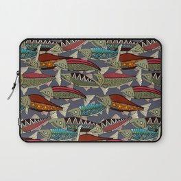 Alaskan salmon dusk Laptop Sleeve