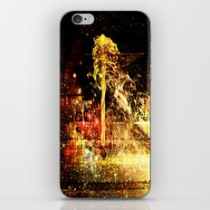 Fountain of Champagne iPhone Skin
