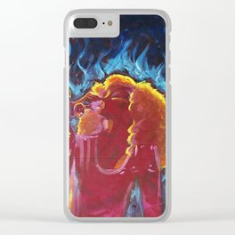 Do What U Want Mother Monster & Xtina Clear iPhone Case