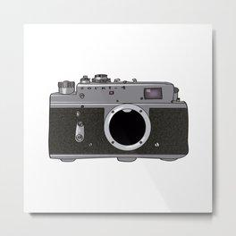 Zorki4 Metal Print