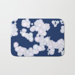Cloudy Night Bath Mat