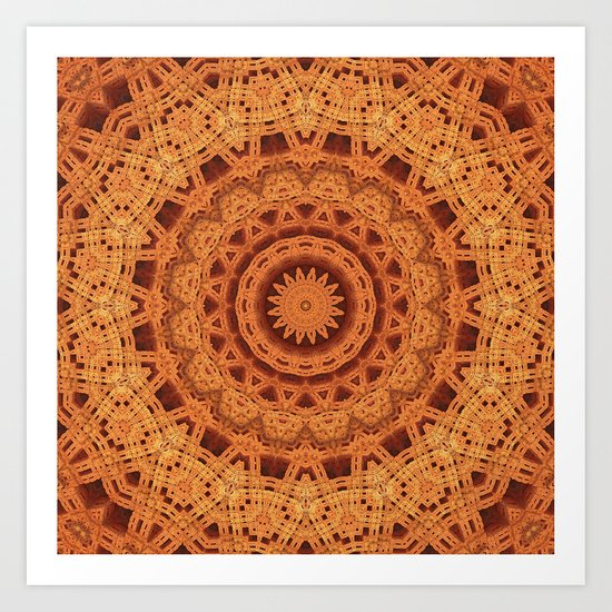 Kaleidoscoping Art Print
