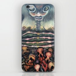 Disembowel my Thoughts iPhone Skin