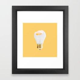 Eggcellent idea Framed Art Print