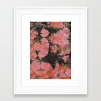 splatter Framed Art Prints featuring Splatter by SarahKdesigns