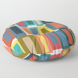 Shapes and Colors 40 Floor Pillow