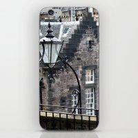 edinburgh iPhone & iPod Skins featuring Edinburgh castle by oxana zaika