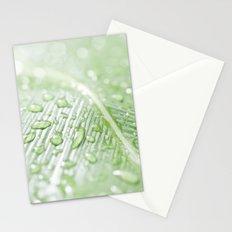 green leaf Stationery Cards