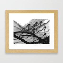 ink-like Framed Art Print