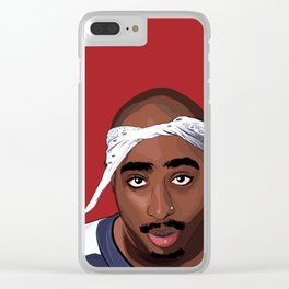 2 Pac Clear iPhone Case