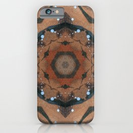 Bushfire Gum Medallion 12 iPhone Case