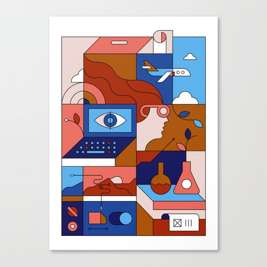 Creative Lab Canvas Print