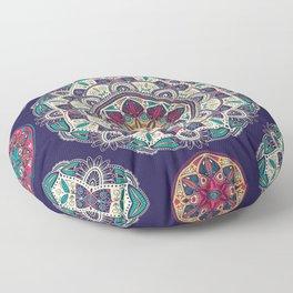 Colorful Mandala Pattern 007 Floor Pillow