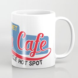 Squires Motorcycle Cafe Coffee Mug