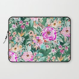 WANDERLUSH Colorful Floral Laptop Sleeve