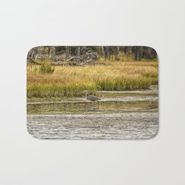 Heron on Snake River No. 2 - Grand Tetons Bath Mat