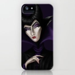 Maleficient iPhone Case