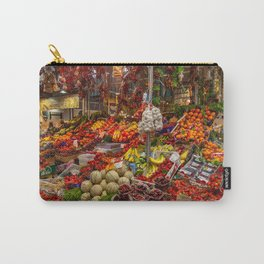 Vegetable stand in Italy Carry-All Pouch