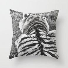 Hobbes.  Throw Pillow