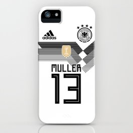 Thomas Muller - Germany World Cup 2018 iPhone Case