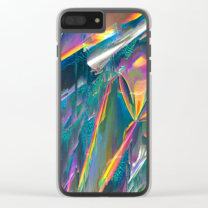 IRIDESCENT Clear iPhone Case