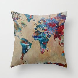 Give You The World Throw Pillow