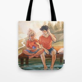Valentines with Percabeth Tote Bag