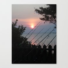 Never Too Early For Fishing Canvas Print