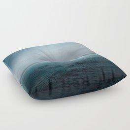 Sea Under Moonlight Floor Pillow