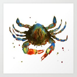Maine Man Art Print