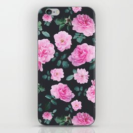 Pink Roses Flower pattern iPhone Skin