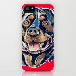 A Rottweiler Named Samson iPhone Case