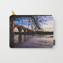 As The Train Goes By Carry-All Pouch