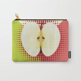 Apple half pop art Carry-All Pouch