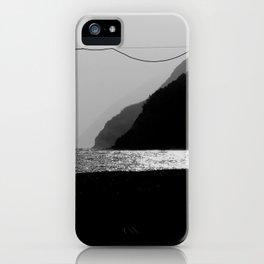 linee parallele iPhone Case