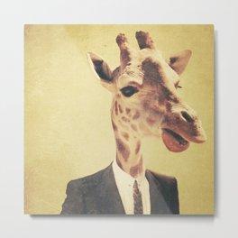 Humanimal: Giraffe  Metal Print